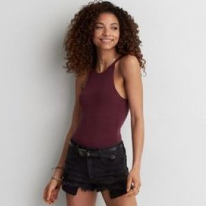 American Eagle Soft & Sexy Tank in Plum